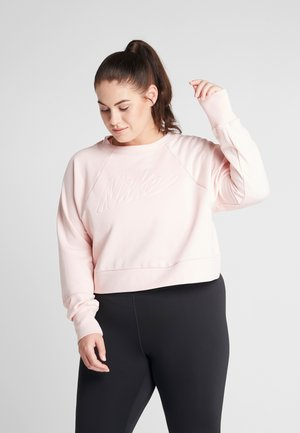 ALL IN PLUS - Sweatshirt - echo pink/white