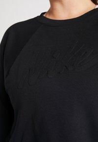 Nike Performance - ALL IN PLUS - Sweatshirt - black/white - 5