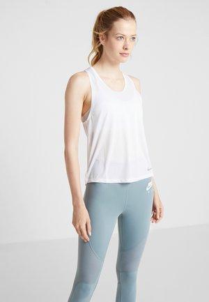 MILER TANK BREATHE - T-shirt sportiva - white/reflective silver