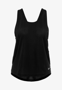 Nike Performance - MILER TANK BREATHE - Sports shirt - black/reflective silver - 5