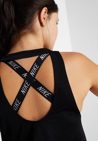 Nike Performance - MILER TANK BREATHE - Sports shirt - black/reflective silver - 3