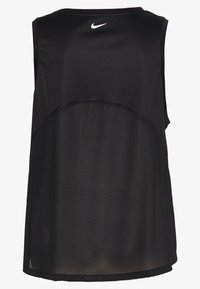 Nike Performance - MILER TANK PLUS - Camiseta de deporte - black/reflective silver - 1