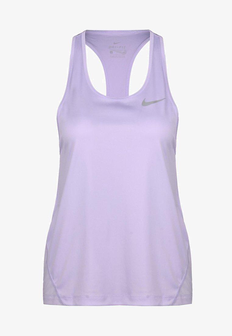 Nike Performance - MILER TANK RACER - T-shirt sportiva - lilac
