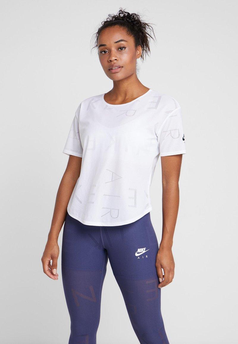 Nike Performance - AIR - T-Shirt basic - white/black
