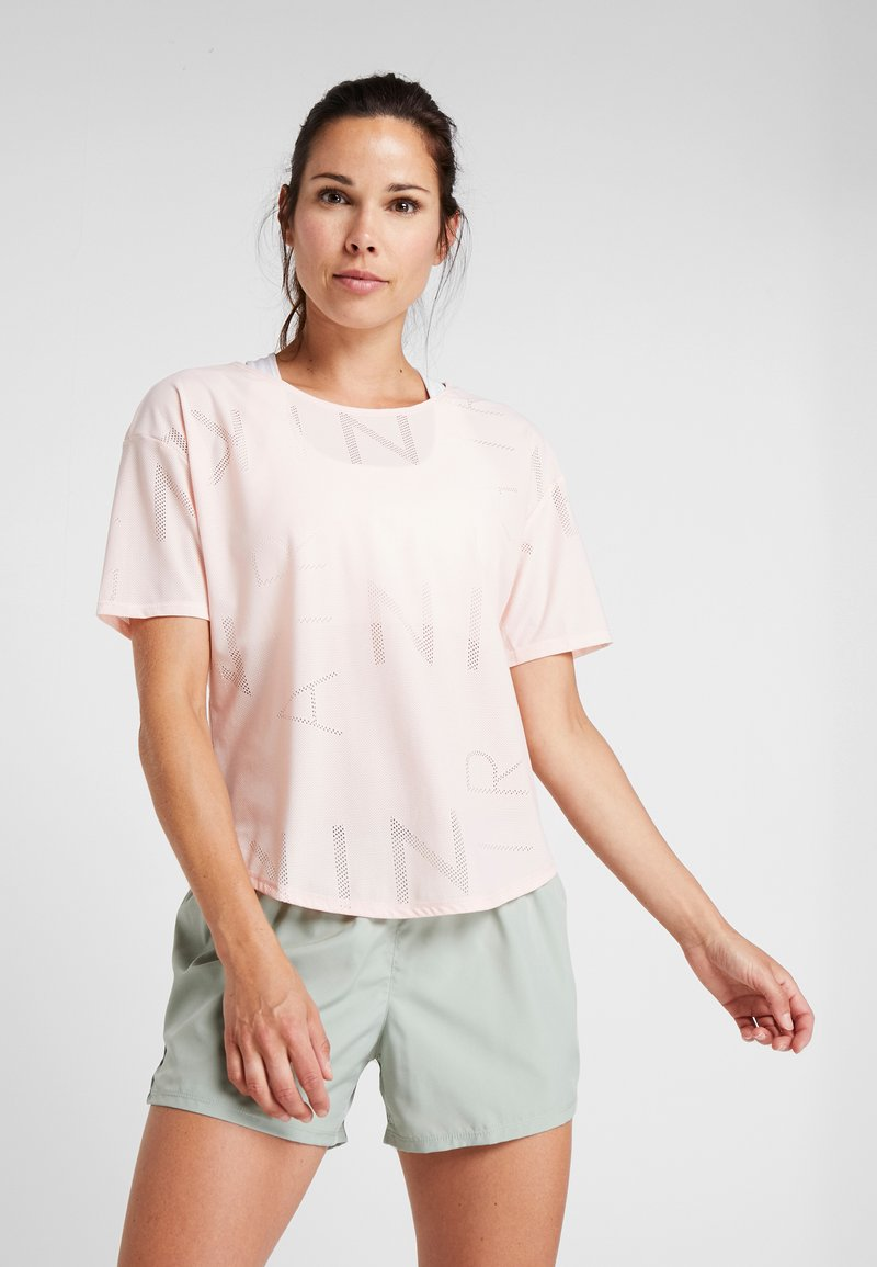 Nike Performance - AIR - Basic T-shirt - echo pink/black