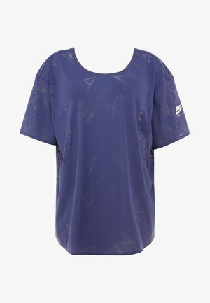 AIR PLUS - T-shirt con stampa - sanded purple/white