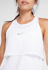 Nike Performance - TANK BREATHE - Funkční triko - white - 4