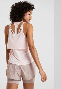 Nike Performance - TANK BREATHE - T-shirt sportiva - echo pink/reflective silver - 2