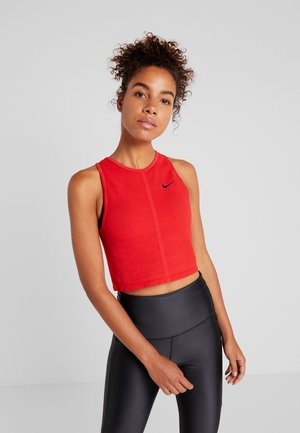 TANK REBEL - Sportshirt - university red/black