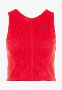 Nike Performance - TANK REBEL - Treningsskjorter - university red/black - 3