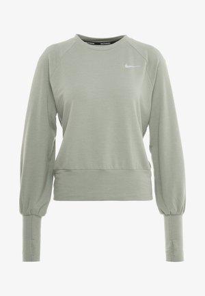MIDLAYER TWIST - Sweatshirt - jade stone/silver