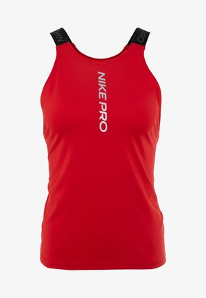 CAPSULE ELASTIKA TANK  - T-shirt de sport - university red/metallic silver