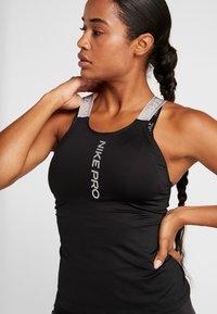 Nike Performance - CAPSULE ELASTIKA TANK  - Sports shirt - black/metallic silver - 4