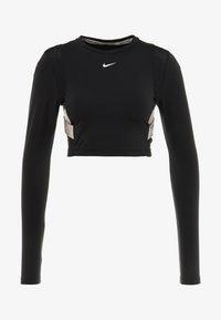Nike Performance - CAPSULE AERO-ADAPT - Funkční triko - black/metallic silver - 6