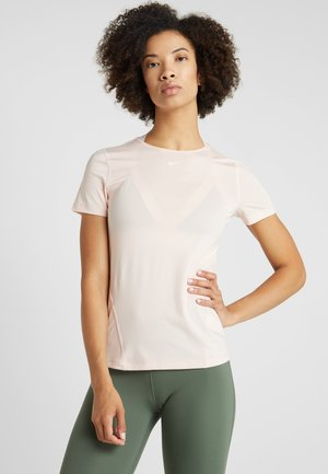 T-shirt basic - echo pink/white