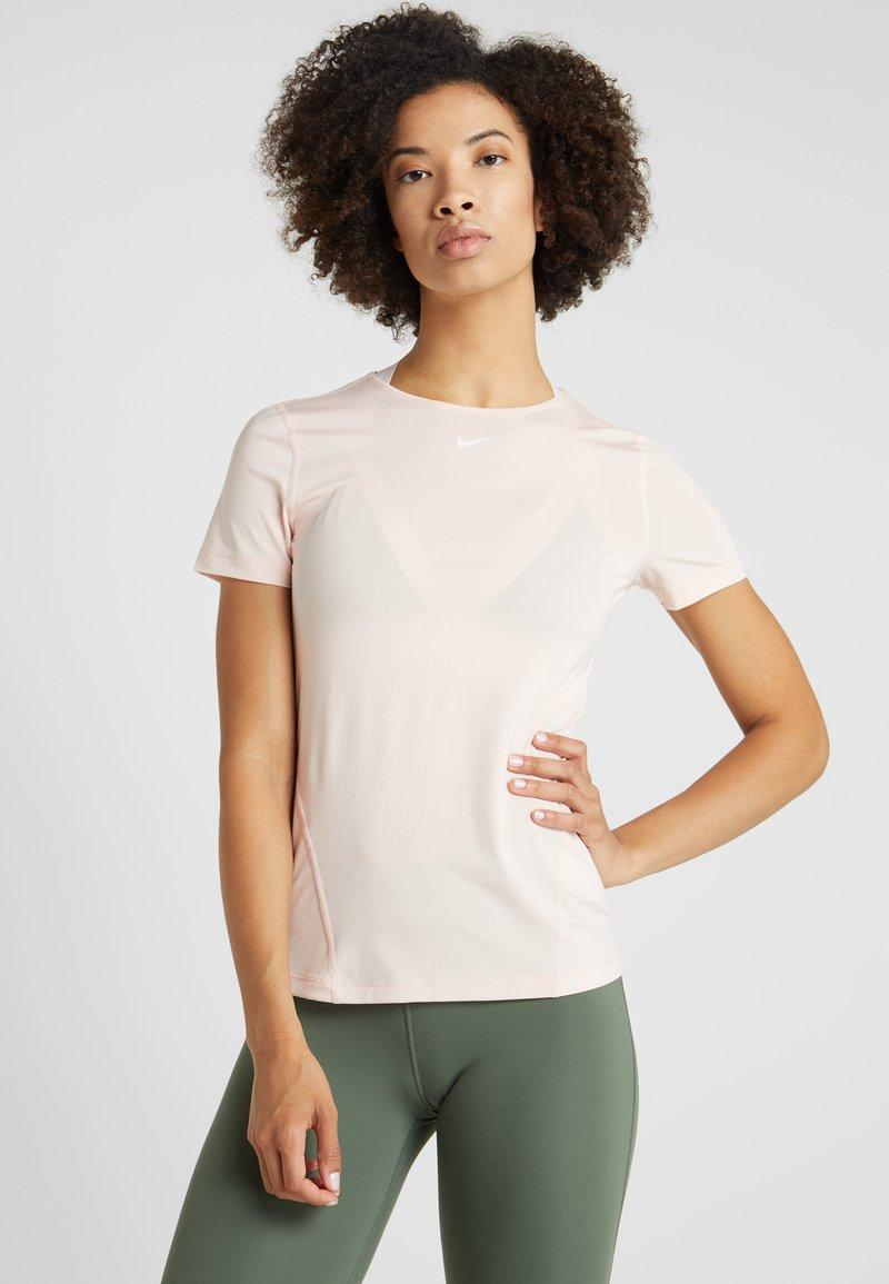 Nike Performance - ALL OVER  - T-shirts basic - echo pink/white