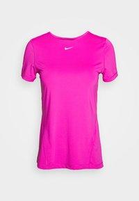 Nike Performance - ALL OVER - Camiseta estampada - active fuchsia/white - 4