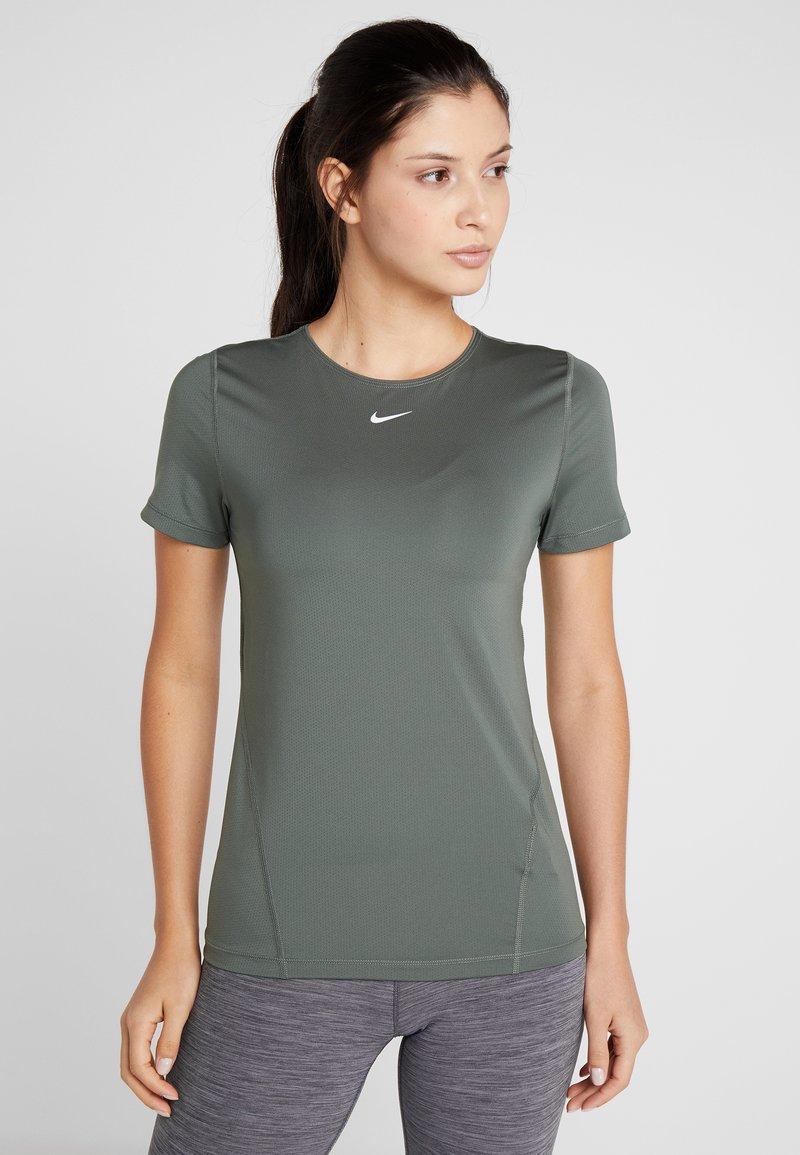 Nike Performance - ALL OVER  - T-Shirt basic - juniper fog/white