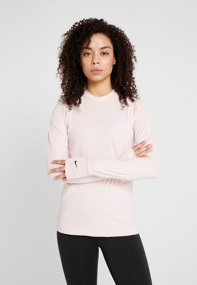Nike Performance - WARM CREW - Sports shirt - echo pink/black