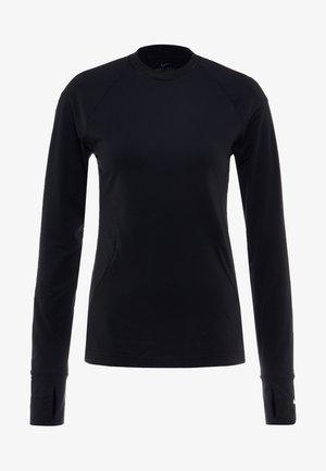WARM CREW - Koszulka sportowa - black/white