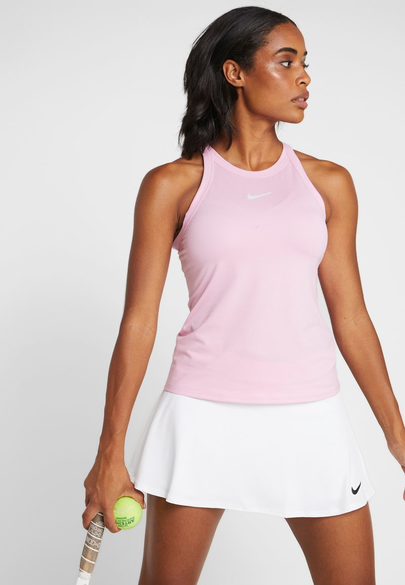 Nike Performance - DRY TANK - T-shirt de sport - pink rise/white