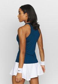 Nike Performance - DRY TANK - Treningsskjorter - valerian blue/white - 2