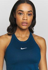 Nike Performance - DRY TANK - Treningsskjorter - valerian blue/white - 4