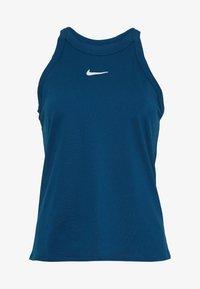 Nike Performance - DRY TANK - Treningsskjorter - valerian blue/white - 3