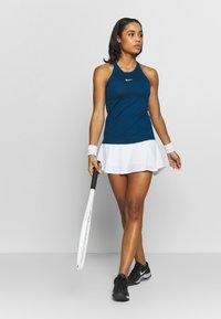 Nike Performance - DRY TANK - Treningsskjorter - valerian blue/white - 1