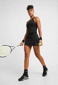 Nike Performance - DRY TANK - Tekninen urheilupaita - black/white - 1