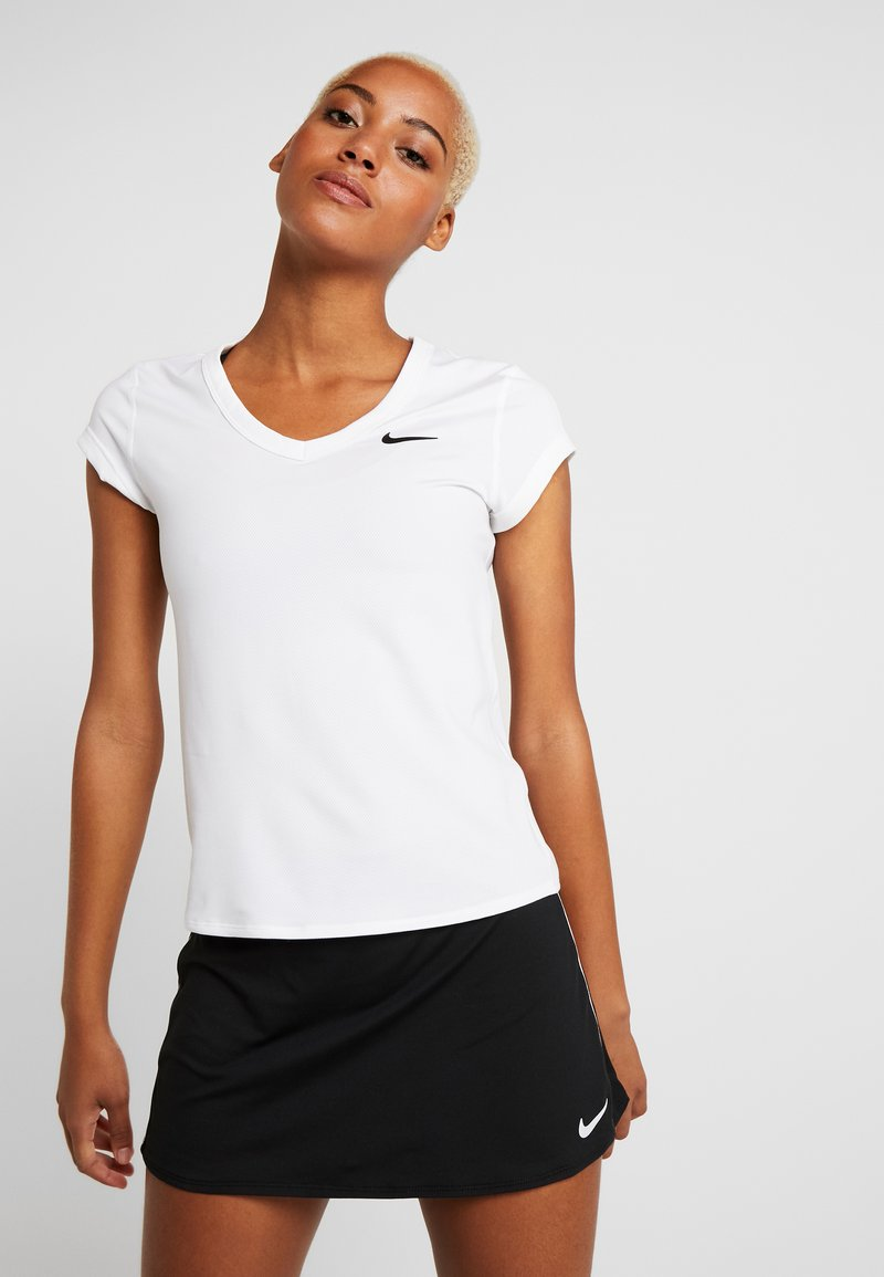 Nike Performance - DRY - Jednoduché triko - white