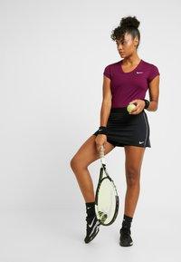 Nike Performance - DRY  - T-shirts - bordeaux/white - 1