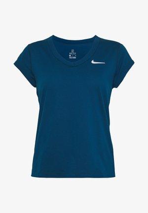 DRY  - T-shirt - bas - valerian blue/white