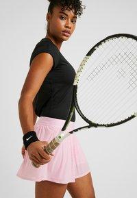 Nike Performance - DRY - Basic T-shirt - black/white - 3