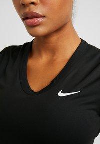 Nike Performance - DRY - Basic T-shirt - black/white - 5