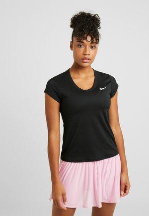 DRY - T-shirt basique - black/white