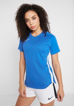 DRY ACADEMY 19 - Print T-shirt - royal blue/white