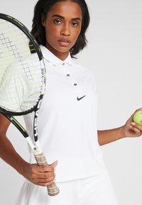 Nike Performance - ESSENTIAL  - Sports shirt - white/black - 4