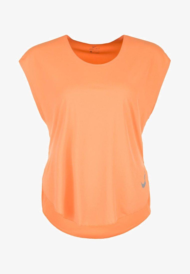Nike Performance - T-Shirt basic - fuel orange / reflective silver