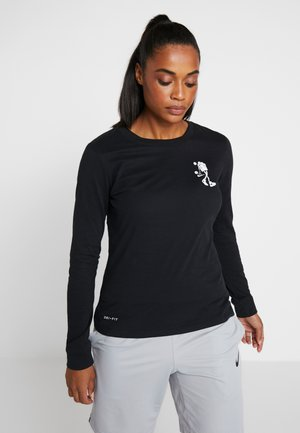 DRY TEE BUCKETS LONGSLEEVE - T-shirt de sport - black