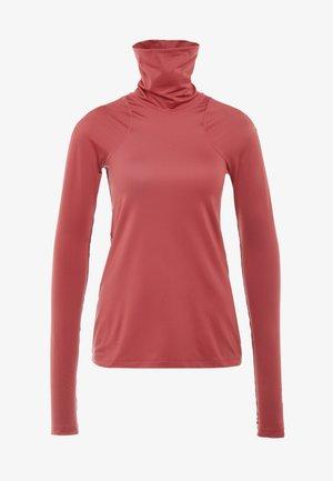 Funkční triko - cedar/red bronze