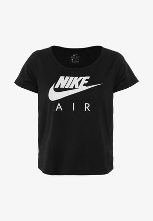 AIR - T-shirt med print - black/white