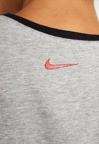 Nike Performance - DRY TANK GLAM DUNK - T-shirt sportiva - darkgrey heather/black - 5