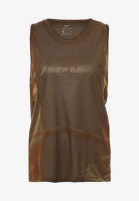 Nike Performance - ICON TANK - Camiseta de deporte - wheat/club gold/black - 5