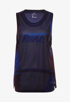 ICON TANK - Tekninen urheilupaita - game royal/university red/black