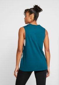 Nike Performance - DRY TANK - T-shirt sportiva - midnight turquoise - 2