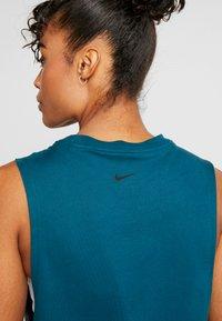 Nike Performance - DRY TANK - Funkční triko - midnight turquoise - 5