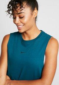 Nike Performance - DRY TANK - Funkční triko - midnight turquoise - 3