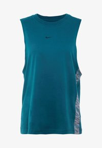 Nike Performance - DRY TANK - T-shirt sportiva - midnight turquoise - 4