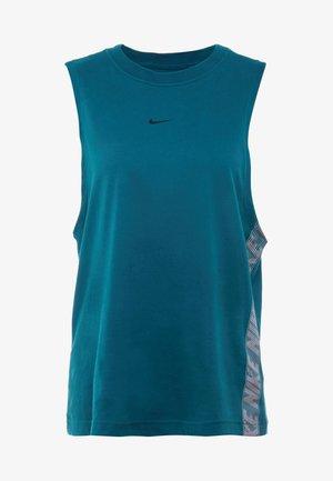 DRY TANK - T-shirt sportiva - midnight turquoise
